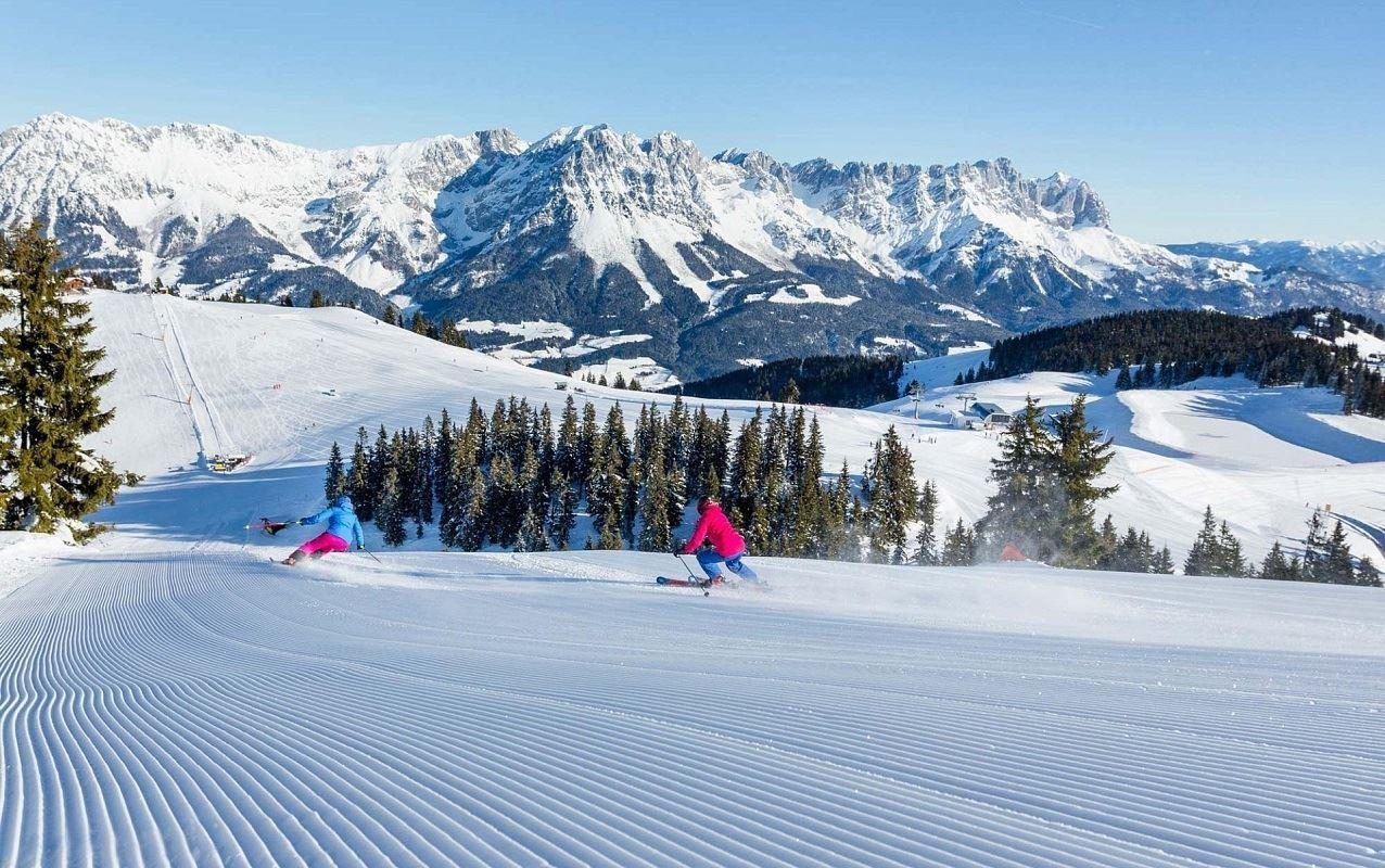 Картинки с горнолыжных курортов