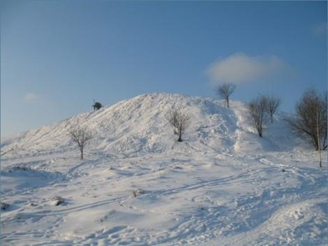 Горнолыжный склон в Орехово