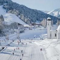 Горнолыжный курорт Зеефельд (Seefeld), Австрия