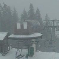 Весенние снегопады в Альпах